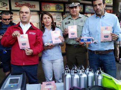 Director Nacional realiza operativo Tolerancia Cero en Estación Central