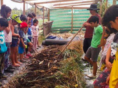 SENDA Previene Putaendo promueve el buen uso del tiempo libre para niños y niñas de la comuna con taller de prácticas campesinas familiares