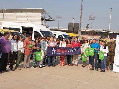 """Transportistas escolares de Curicó piden someterse a exámenes de alcotest y narcotest del plan """"Tolerancia Cero"""""""