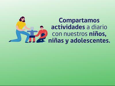 Cuadernillos de actividades diarias para desarrollar Parentalidad positiva