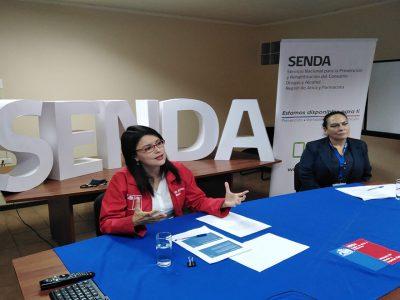 SENDA Arica realizó primer seminario cien por ciento online