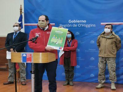 Director regional del SENDA reforzó campaña Cuarentena Positiva para los habitantes de O'Higgins