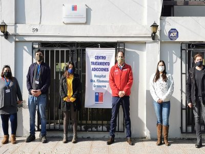Director regional del SENDA visitó el centro de tratamiento Hospital de Graneros