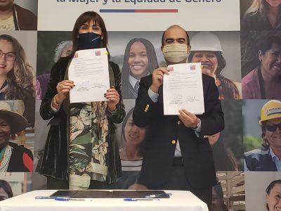 SENDA FIRMA CONVENIO CON MINISTERIO DE LA MUJER PARA REFORZAR ENFOQUE DE GÉNERO EN PROGRAMAS DE PREVENCIÓN Y TRATAMIENTO
