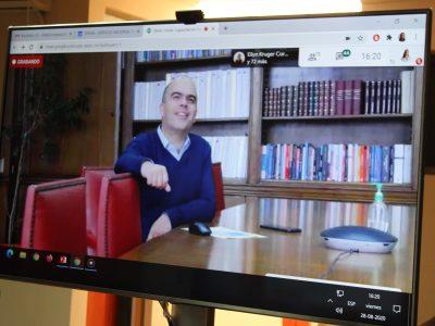Director Nacional de SENDA se reunió con Colegio de Orientadores de Arica