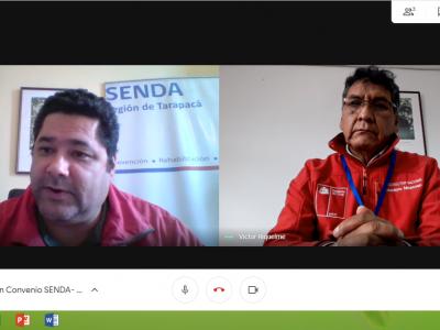 SENDA Tarapacá y CONADI  inician trabajo colaborativo