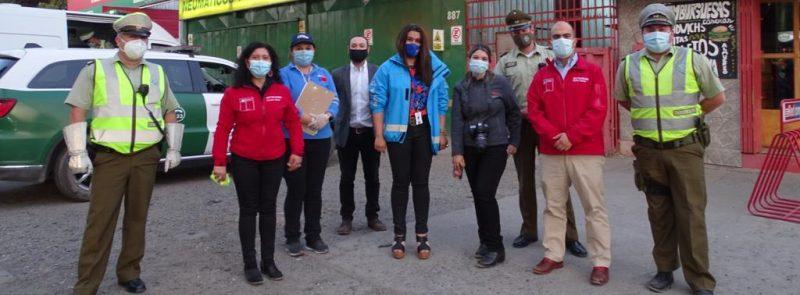 DIRECTOR NACIONAL VISITA LA REGIÓN DE ÑUBLE Y ENCABEZA OPERATIVO TOLERANCIA CERO
