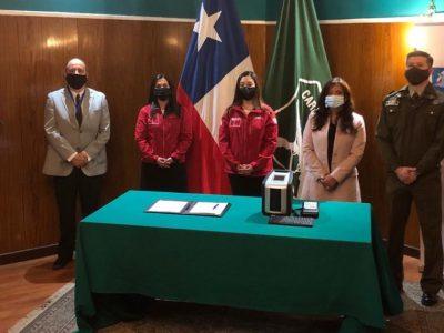 SENDA HACE ENTREGA DE UN NUEVO EQUIPO NARCOTEST EN MAGALLANES