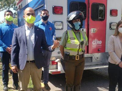 SENDA encabeza primer operativo multidisciplinario para detección de drogas en conductores