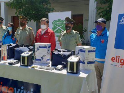 Carabineros Maule recibió nuevos equipos detectores de drogas