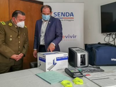 SENDA O'Higgins entregó máquinas de narcotest a Carabineros de Chile