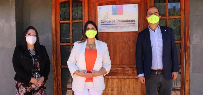 DIRECTOR NACIONAL  INAUGURA PRIMER CENTRO DE TRATAMIENTO DE MUJERES EN LA ARAUCANÍA