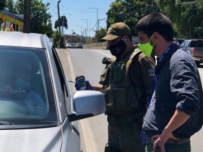 SENDA y Carabineros de Los Ríos reforzarán controles de Alcotest y Narcotest para tener un fin de año responsable.