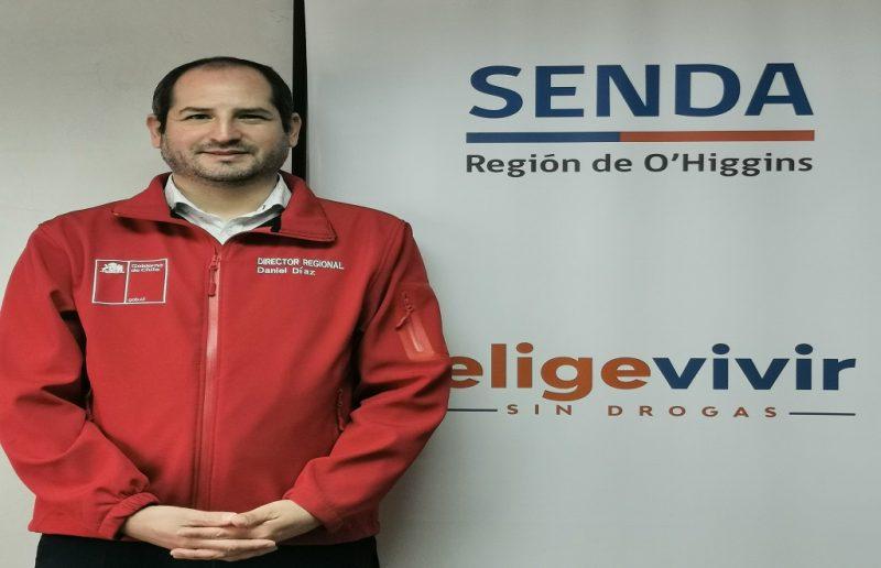 Director regional del SENDA O'Higgins deja su cargo