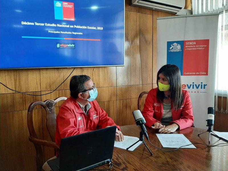 En Arica dan a conocer  resultados del Estudio Nacional en Población Escolar
