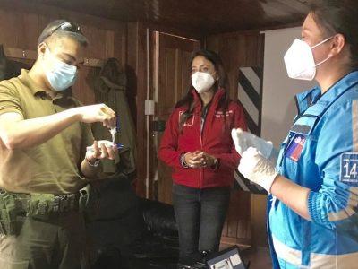 SENDA Los Lagos capacita a Carabineros de la Provincia de Palena en el uso del equipo Narcotest