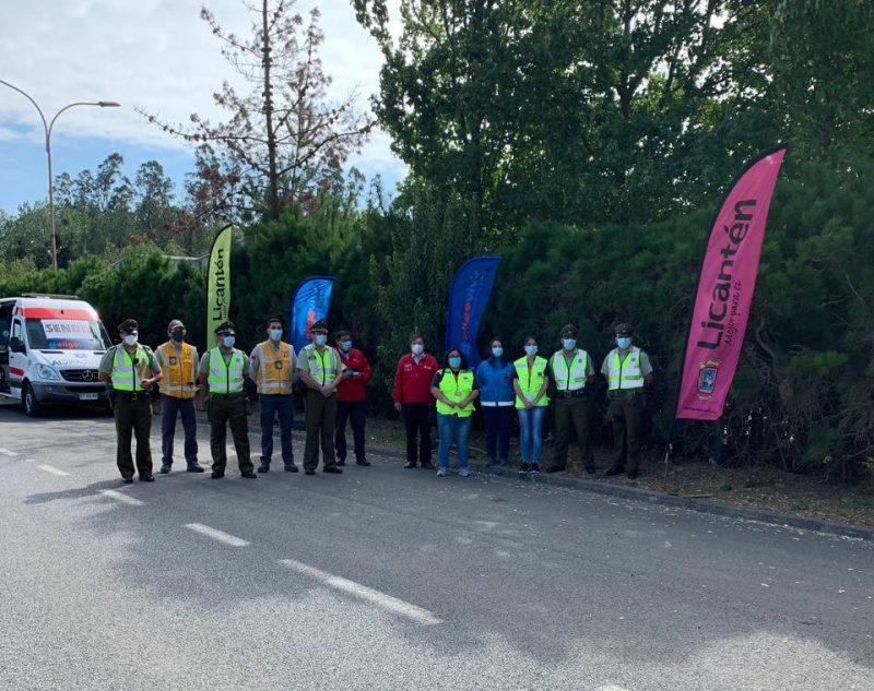 SENDA, Transportes y Carabineros realizaron operativo «Tolerancia Cero» en ruta costera de Curicó