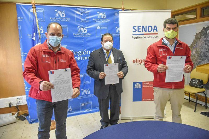 SENDA Los Ríos recibió 30 millones de pesos por parte del Gobierno regional para desarrollar acciones preventivas