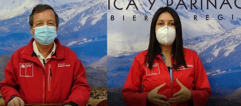 En Arica: Autoridades regionales llaman participar de la segunda versión de la Encuesta SENDA