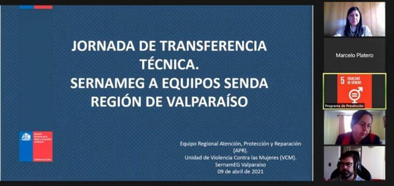 SERNAMEG Y SENDA REALIZAN JORNADAS RECÍPROCAS DE TRANSFERENCIA TÉCNICA EN REGIÓN DE VALPARAÍSO