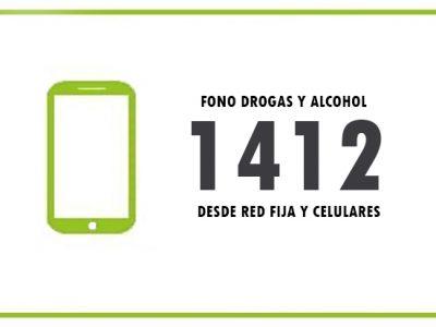 1412 Fono Drogas y Alcohol de SENDA