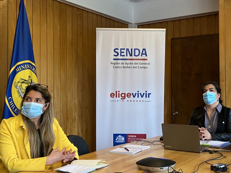 SESIONA MESA REGIONAL DEL ELIGE VIVIR SIN DROGAS