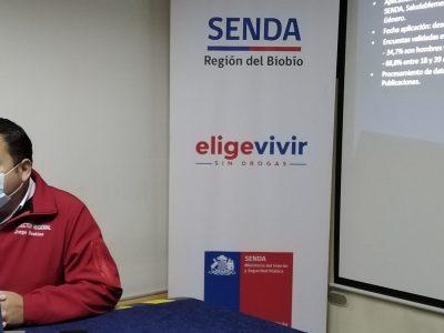 SENDA Biobío entrega resultados de encuesta sobre consumo de alcohol y otras drogas en pandemia
