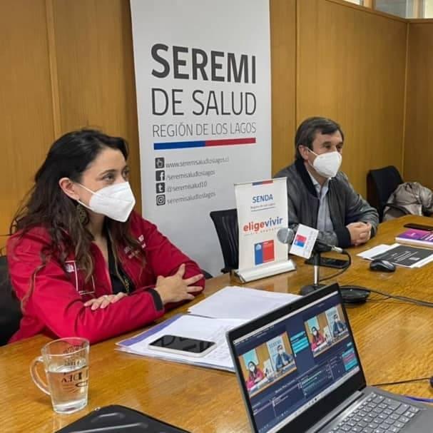 SENDA y Seremi de Salud  dan a conocer resultados regionales de la segunda versión de la Encuesta SENDA  sobre los efectos del COVID-19 en el consumo de alcohol y otras drogas en Chile