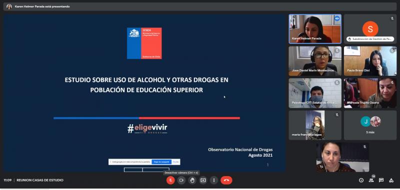 SENDA Arica y Parinacota invita a participar del segundo Estudio en Educación Superior
