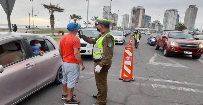 SENDA Tarapacá junto a Carabineros refuerzan controles Tolerancia Cero para evitar siniestros de tránsito