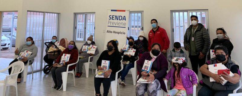 SENDA reconoce a mujeres de Alto Hospicio  como agentes para la prevención del consumo de alcohol y otras drogas
