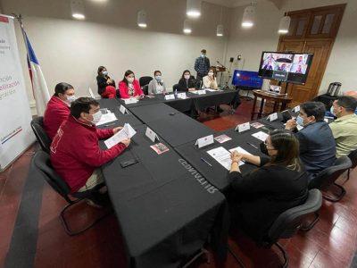 Delegado Presidencial del Maule presidió Mesa Regional «Elige Vivir Sin Drogas»