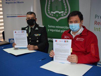 Funcionarios del CRS de Cauquenes trabajarán en programas preventivos